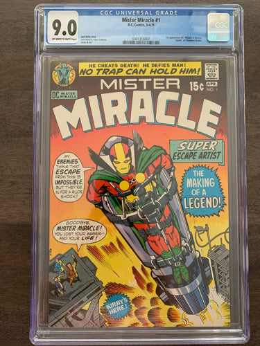 Mister Miracle #1 CGC 9.0 - 1st Mister Miracle
