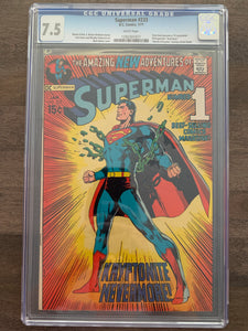 Superman #233 CGC 7.5 - Neal Adams