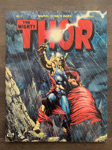 Marvel Comics Index #5 - Thor