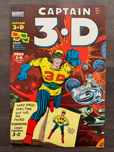 Captain 3-D #1 - Jack Kirby