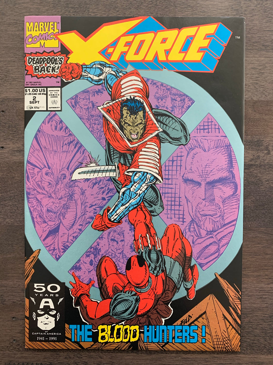 X-Force #2 - 2nd Deadpool
