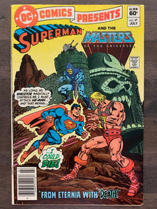 DC Comics Presents #47 - 1st He-Man & Skeletor