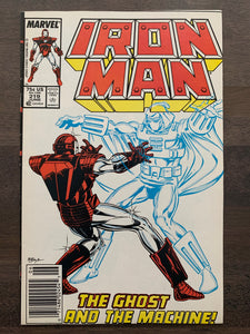 Iron Man #219 - 1st Ghost