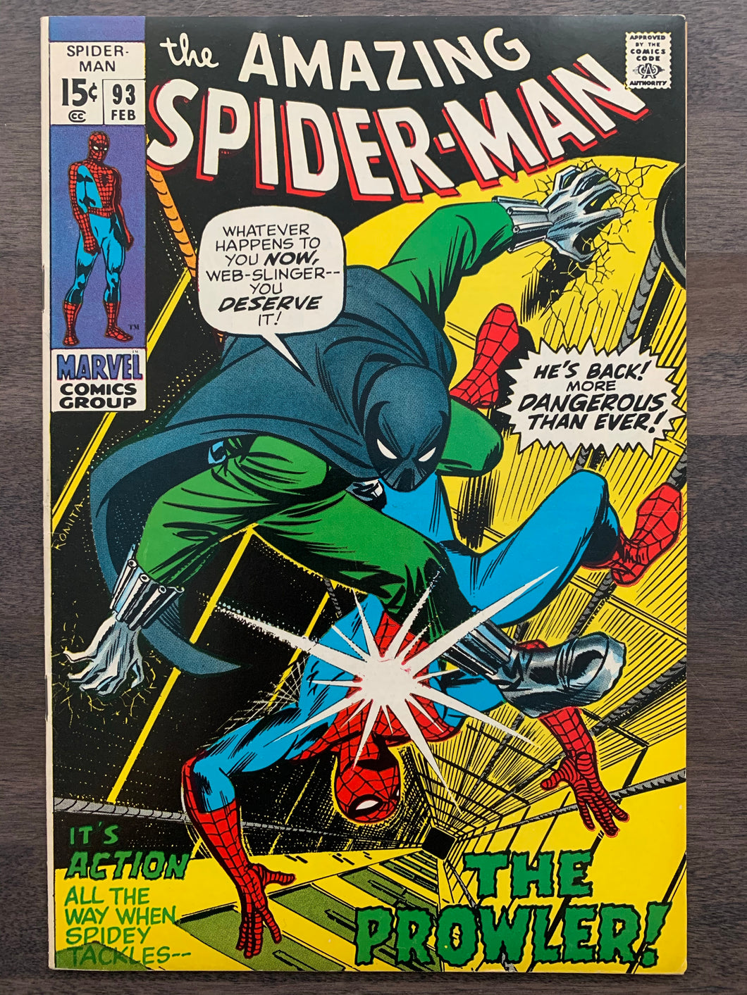 Amazing Spider-Man #93 - 1st Arthur Stacy