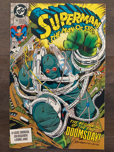 Superman: The Man of Steel #18 - 1st Doomsday