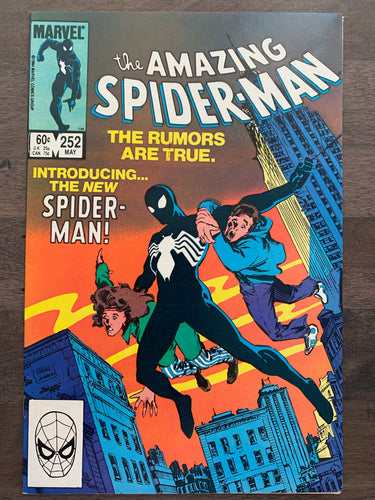 Amazing Spider-Man #252 - 1st Black Costume