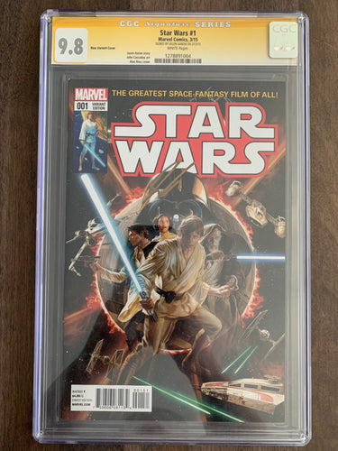 Star Wars #1 CGC Signature Series 9.8 - Alex Ross