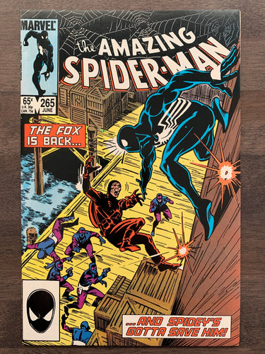 Amazing Spider-Man #265 - 1st Silver Sable