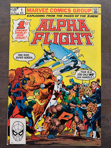 Alpha Flight #1 - Origin