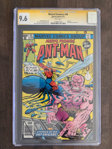 Marvel Premiere #48 CGC Signature Series 9.6 - 2nd Ant-Man