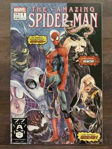 Amazing Spider-Man #1 - Campbell variant cover B