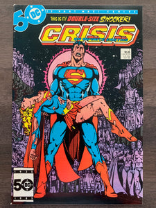 Crisis on Infinite Earths #1 - Death of Sueprgirl