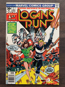 Logan's Run #1 - Movie Adaptation