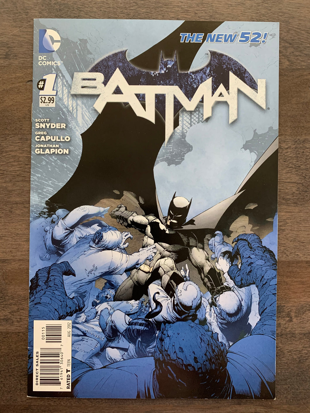 Batman #1 5th Print RARE