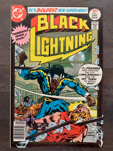 Black Lightning #1 - 1st Black Lightning