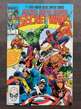Load image into Gallery viewer, Marvel Super Heroes Secret Wars #1 - First Issue