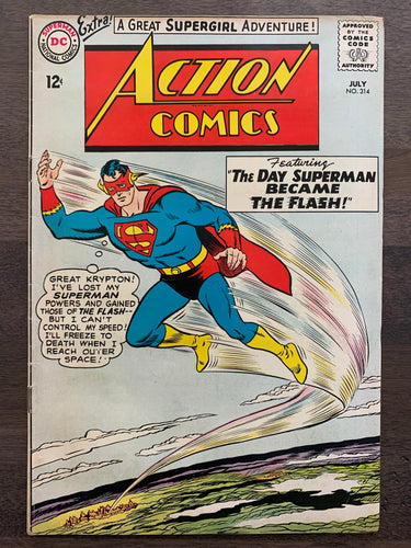Action Comics #314 - Justice League of America