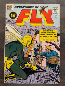 Adventures of the Fly #4 - 1st Neal Adams