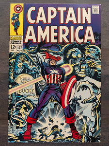 Captain America #107 - 1st Doctor Faustus