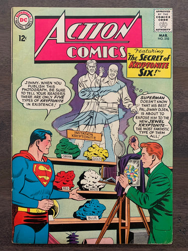 Action Comics #310 - 1st Jewel Kryptonite