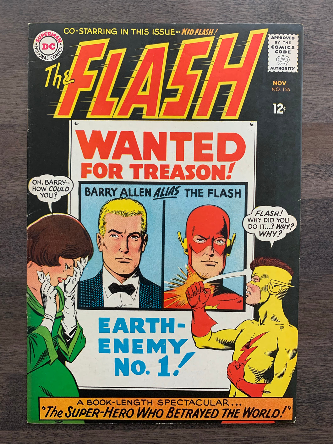 Flash #156 - Kid Flash