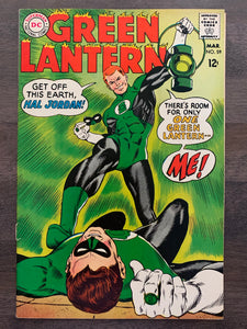 Green Lantern #59 - 1st Guy Gardner