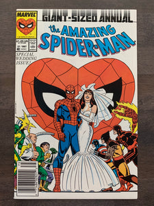 Amazing Spider-Man Annual #21 - Peter & Mary Jane Wedding