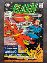 Load image into Gallery viewer, The Flash #175 - Superman vs. Flash Race