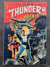Load image into Gallery viewer, Thunder Agents #1 - 1st Dynamo, NoMan, Menthor, Iron Maiden & Thunder Squad