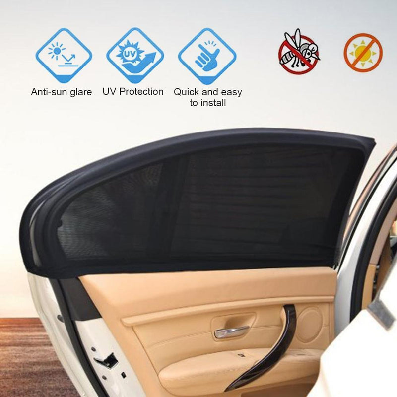Car Sun Shades Protect baby/Pets from the Sun's Glare