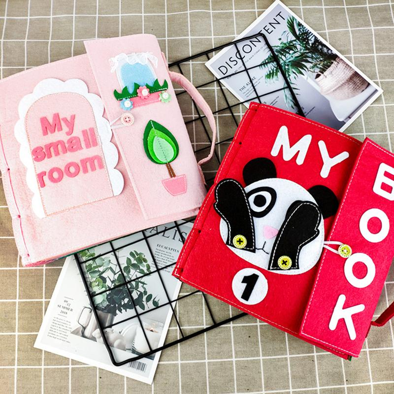 Felt DIY Cloth Non-Woven Painting Book