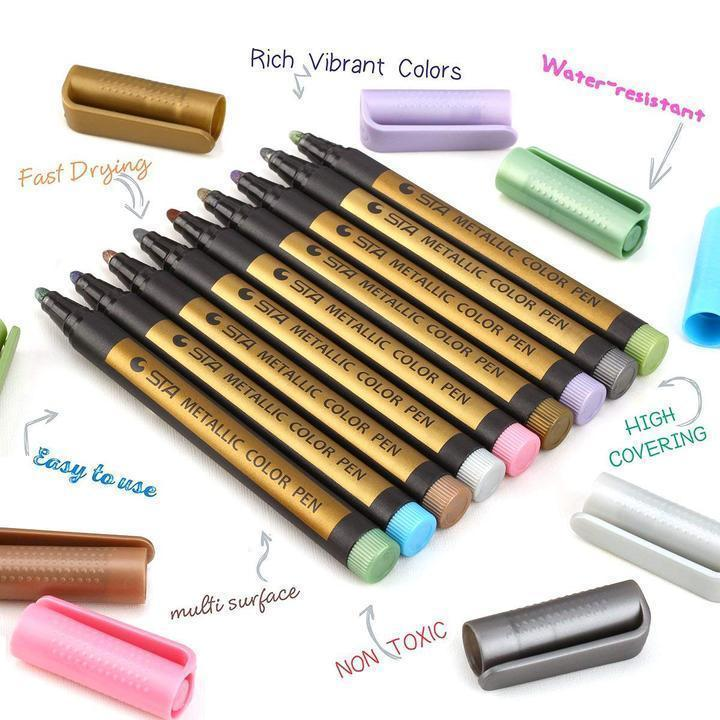 Colored Paint Marker Pens