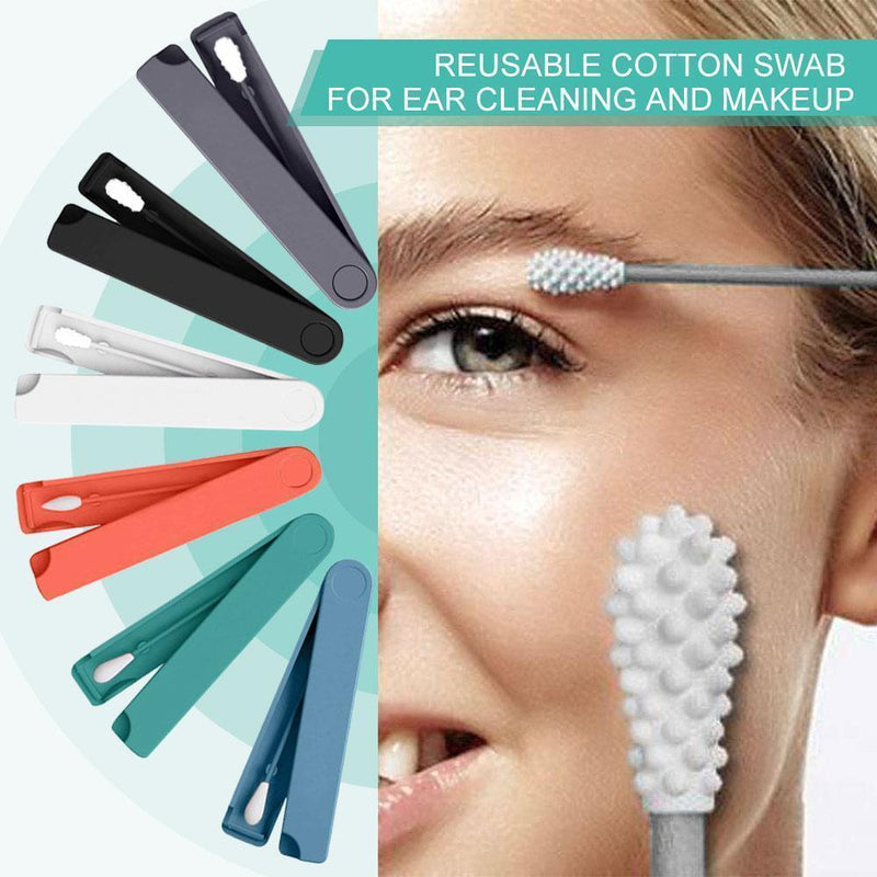 Reusable Cotton Swab For Ear Cleaning And Makeup