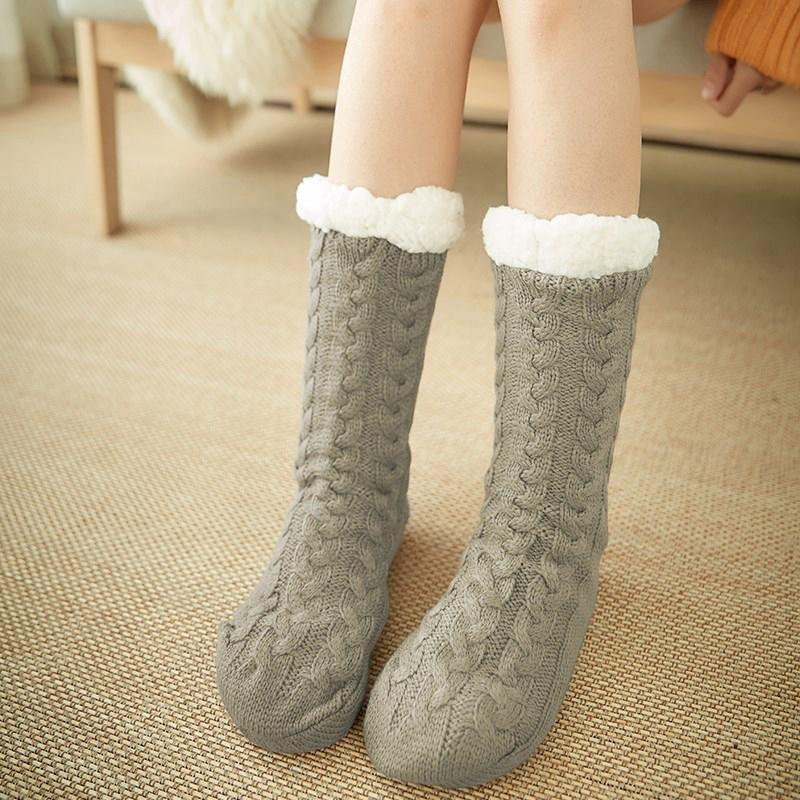 Ultra-plush Non-slip Slipper Socks