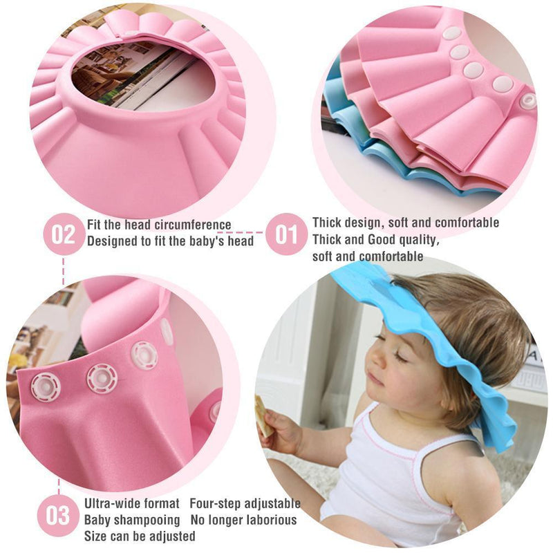 Children's bath shampoo cap