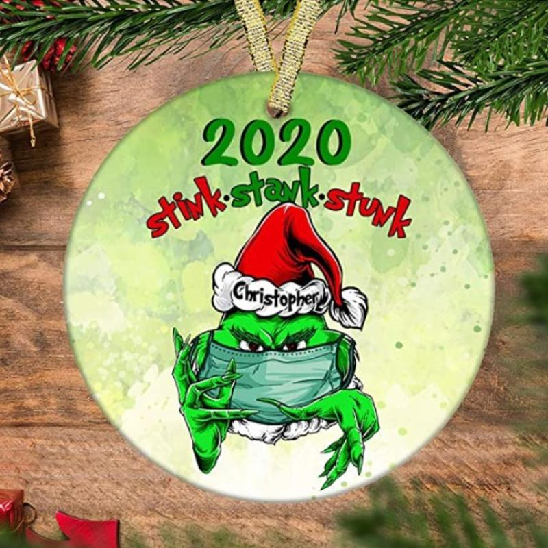 2020 Stink Stank Stunk Christmas Ornament