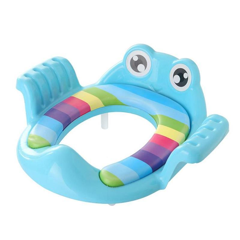 Folding Baby Potty Infant Kids Toilet Training Seat
