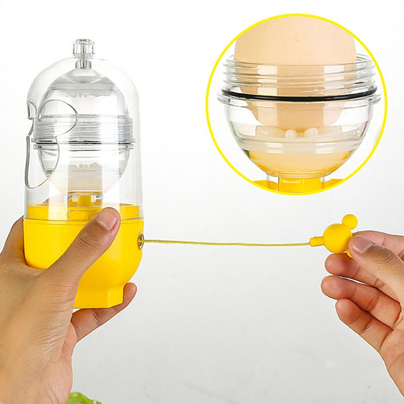 Hand-cranked Golden Egg Maker