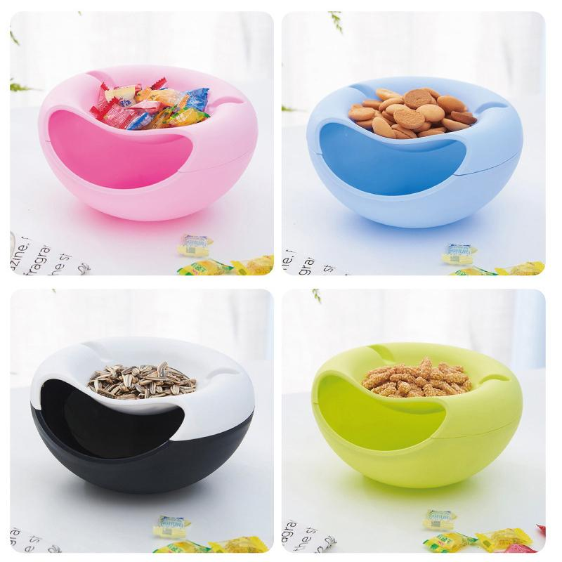 Multifunction Snack Box With Phone Holder