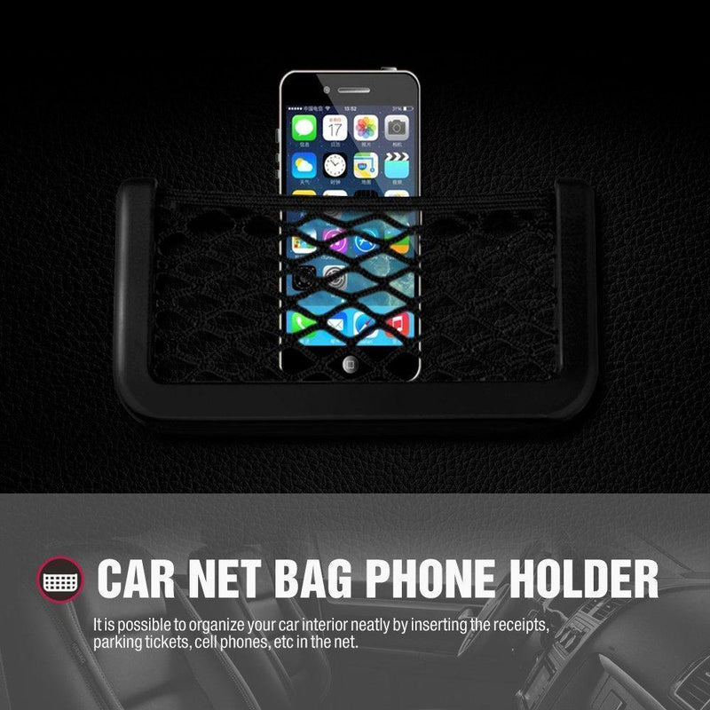 Car String Bag Pocket Storage Organizer