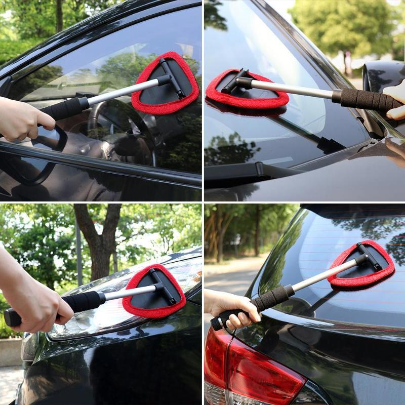 Retractable Car Window Cleaning Brush