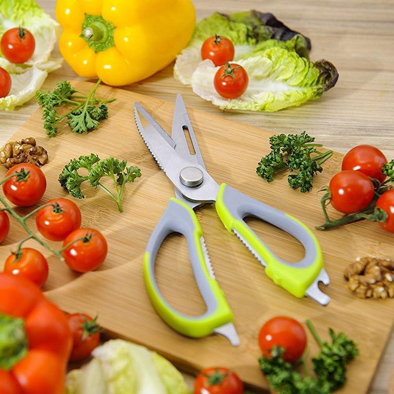 8-in-1 Multifunctional Kitchen Scissors
