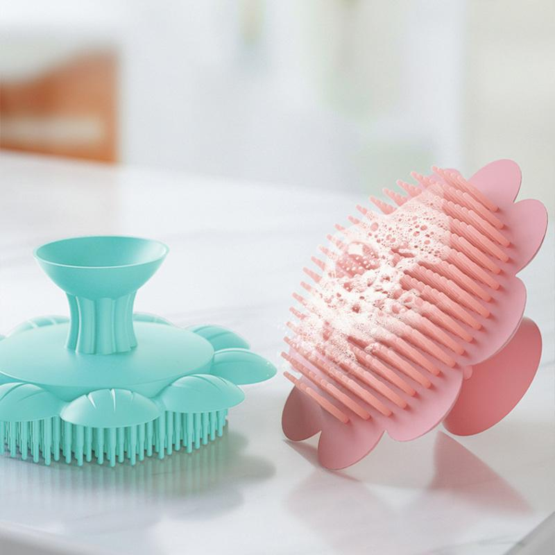 Baby Silicone Bath Brush