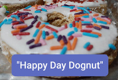 Happy Day Dognut (Our Baked Dog Dognut)
