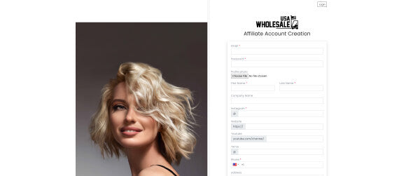 Usa Wholesale Cosmetics, Beauty, and Health Product Affiliates Page