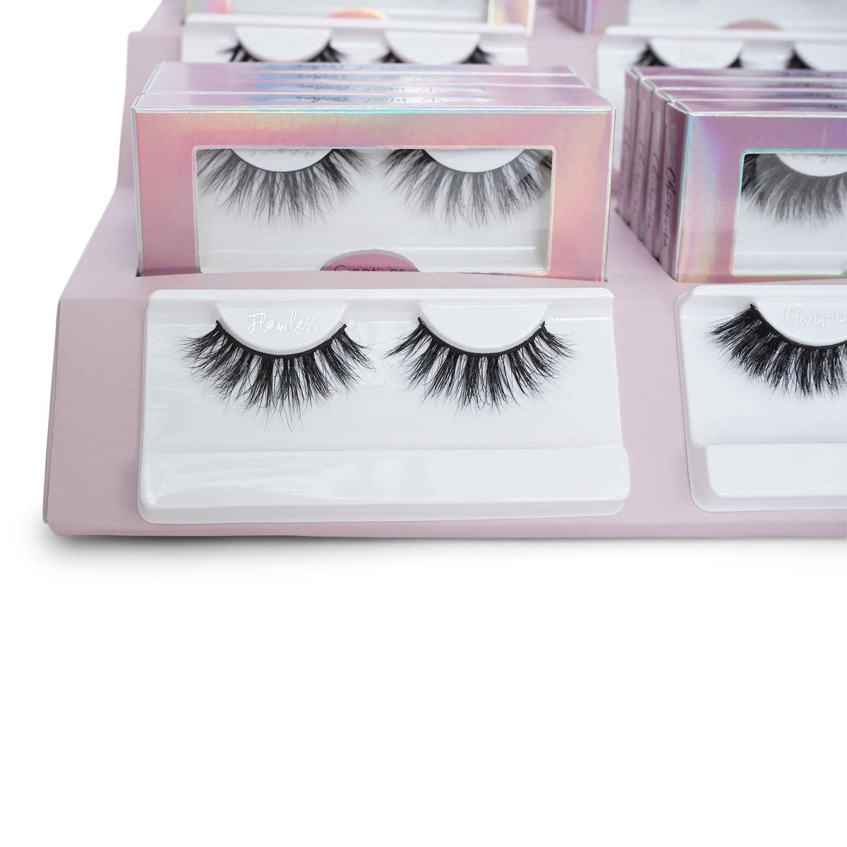 Beauty Creations 3D Mink Lashes Holographic (Display of 72) (1/cs)