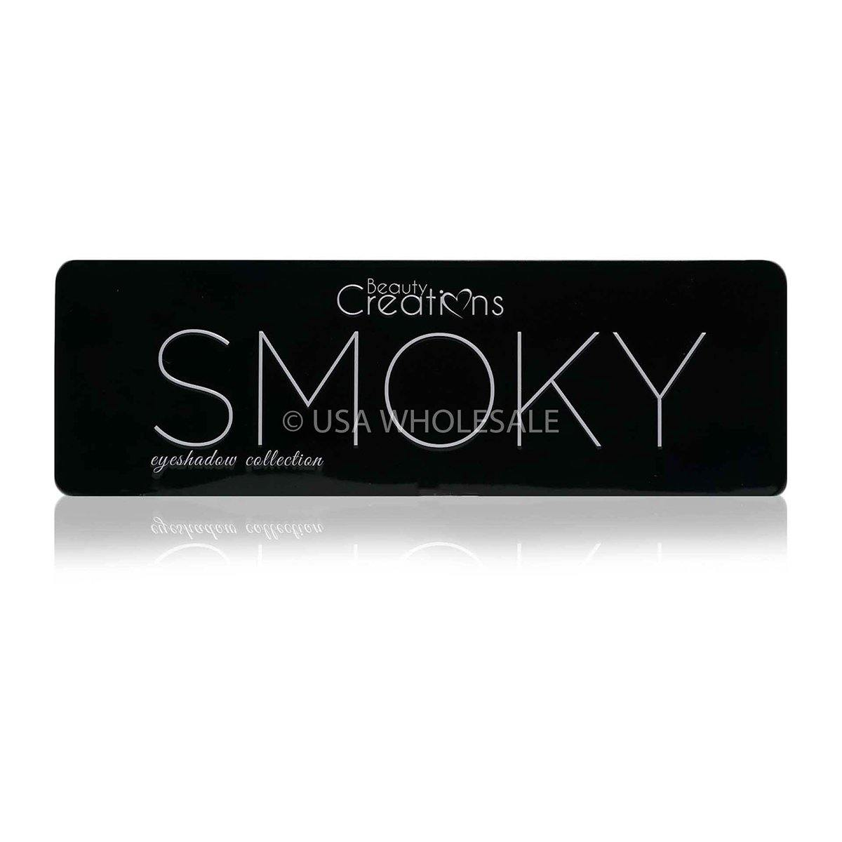 BEAUTY CREATIONS | Smoky Eyeshadow Palette w/ 12 Colors (Case of 12)