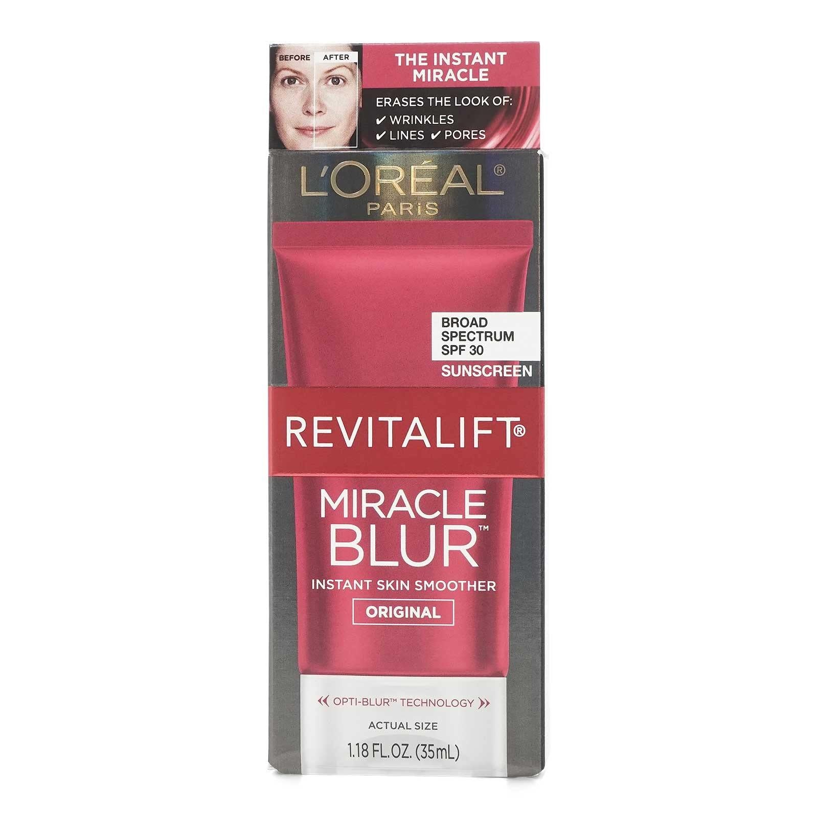 L'Oreal RevitaLift Miracle Blur Finishing Cream, SPF 30 (6/cs)