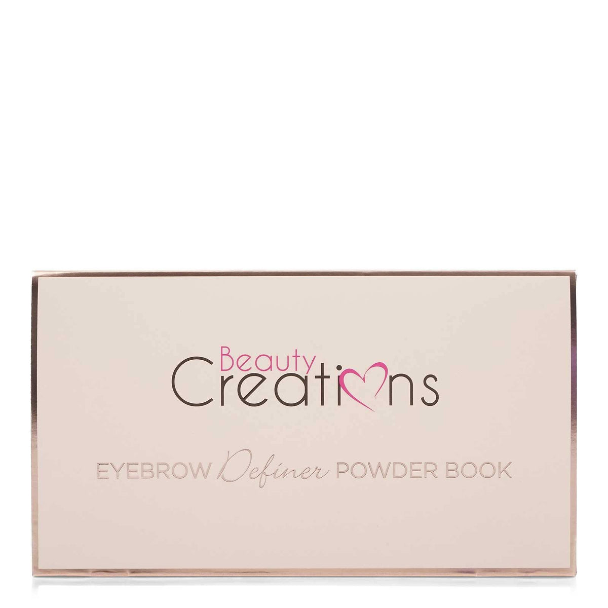 BEAUTY CREATIONS EYEBROW DEFINER POWDER BOOK- BF BB01 (12/cs)