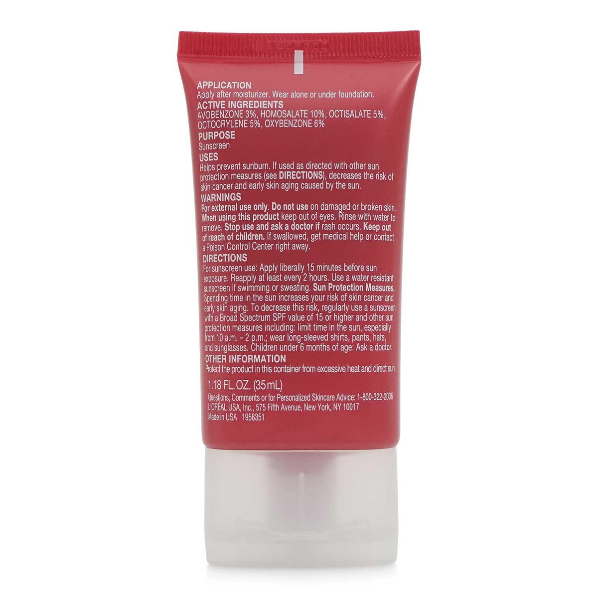 L'Oreal RevitaLift Miracle Blur Finishing Cream, SPF 30, 1.18 fl oz (6/cs)